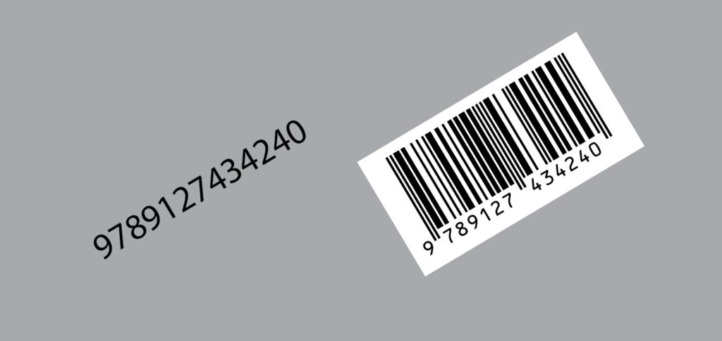 Barcode EAN13 script for Adobe Illustrator. Barcode rotated.