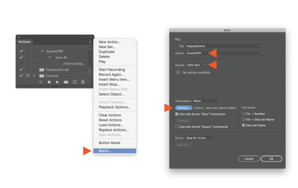 Generate EAN13 barcode in Adobe Illustrator. Batch action